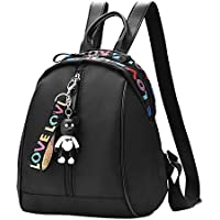 Zantec Bolso casual elegante del viaje de la mochila colorida de la letra de Oxford de la muchacha de las mujeres
