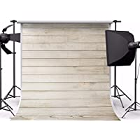MOHOO Photography Background 5X7ft 100%Polyester Newborn Wooden Wood Wall Photo Backdrop Collapsible and Washable for Studio Photo Props (Updated Material)1.5x2.1M