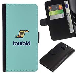 LASTONE PHONE CASE / Lujo Billetera de Cuero Caso del tirón Titular de la tarjeta Flip Carcasa Funda para HTC One M8 / loufold