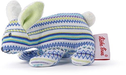 Käthe Kruse Bunny Buddy Mini Plush Blue Grabbing Toy ()