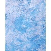 CowboyStudio Photo Studio Sheer Blue Marbled Gossamer Cloth C036, 10 x 20 ft