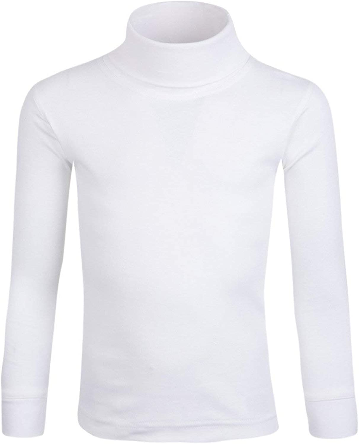 100/% Cotton Thermal Baselayer Breathable Perfect for Children This Winter Mountain Warehouse Meribel Kids Cotton Roll Neck Top Lightweight Extremely Soft