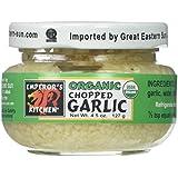 Organic Chopped Garlic 4.50 Ounces (Case of 12)