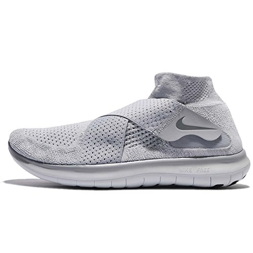Nike Men's Free Rn Motion Fk 2017 Trail Running Shoes Gray (Wolf Grey / Cool Grey / Pure Platinum 005) zVSfkL