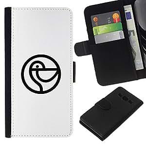 All Phone Most Case / Oferta Especial Cáscara Funda de cuero Monedero Cubierta de proteccion Caso / Wallet Case for Samsung Galaxy A3 // Cormorán aquí