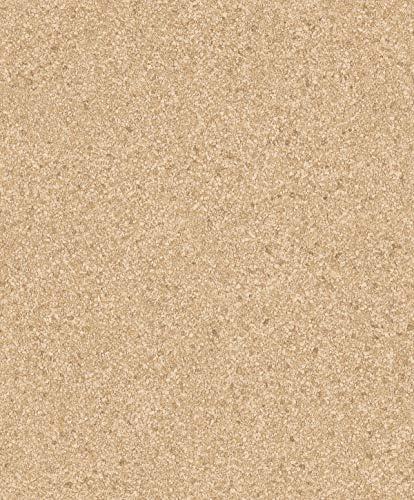Wallpaper Designer Natural Real Crushed Stone Mica Chips Sand Brown Tan