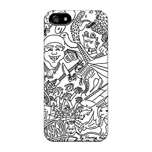 Shockproof Hard Phone Cases For Iphone 5/5s (xUV4982QsEg) Allow Personal Design High-definition Cartoon Movie 2014 Series