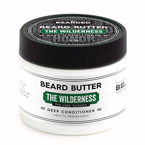 Pine, Cedar, Eucalyptus Beard Butter | Live Bearded Made in USA | The Wilderness All Natural Beard Butter