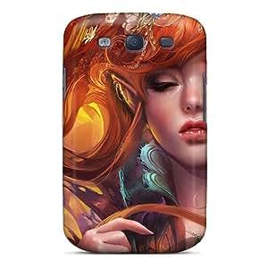 For Galaxy S3 Fashion Design Fantasy Elf Girl Case