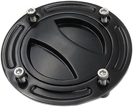 HTT Group Motorcycle Black Keyless Gas Cap Twist Off Fuel Tank Cap For 1997-2003 Suzuki GSX-R 600// 1996-2003 GSX-R 750// 2001-2002 GSX-R 1000// 1999-2007 Suzuki Hayabusa// SV 650// TLR 1001R