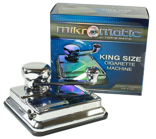 Mikromatic King Size Cigarette Tube Injector Machine by (Lp Large Steel Bottom)
