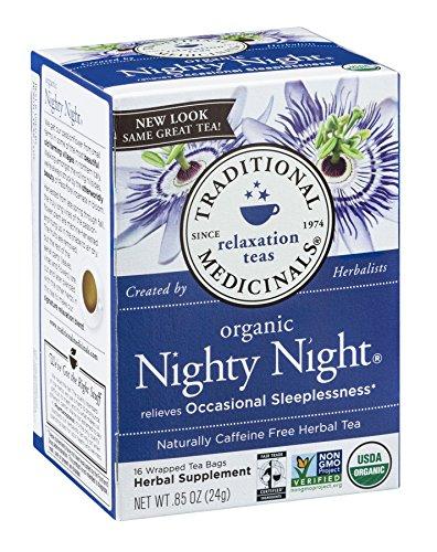 Traditional Medicinals, Organic Nighty Night Tea, 16 ()