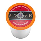 Stash Tea Pomegranate Raspberry Single-Cup Tea for Keurig K-Cup Brewers, 40 Count
