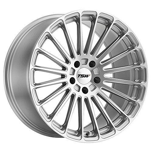 TSW Turbina 19x8.5 5x108 +42mm Titanium/Mirror Wheel Rim