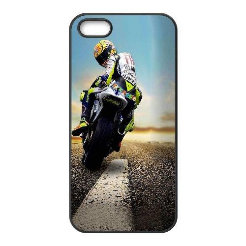 Valentino Rossi ET88QY4 coque iPhone 5 5s téléphone cellulaire cas coque Y5FQ7T8IB