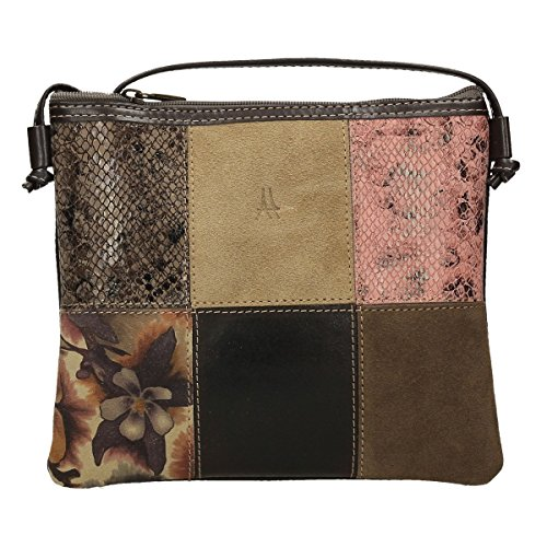 ANTHER, Borsa a tracolla donna Multicolore Varios colores