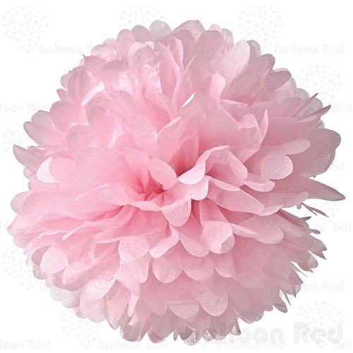 10-inch-tissue-paper-flower-pom-poms-pack-of-5-pink