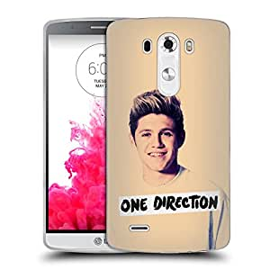 Official One Direction 1D Black And White Niall Photo Filter Soft Gel Back Case Cover for LG G3 D855 D850
