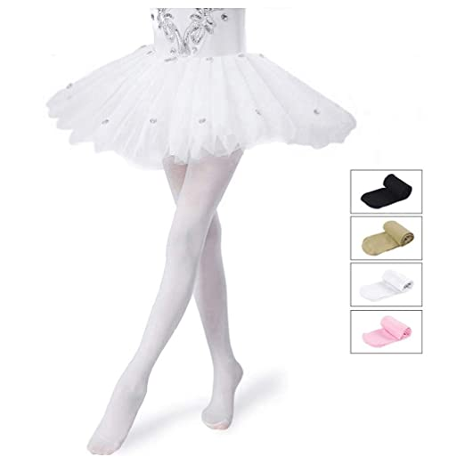 b0012490b144b2 Girls Tights,Dance Tights,Ballet/Transition Super Elasticity Pantyhose For  Kids/Children