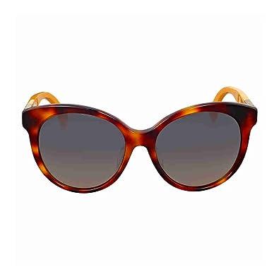 Amazon.com  Fendi Womens Round Sunglasses (Havana)  Shoes 3ed3541fe9448