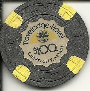 100-travelodge-hotel-rare-casino-chip-carson-city-nevada