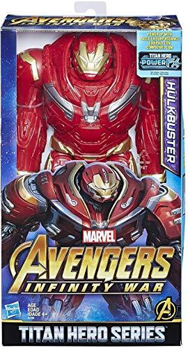 Marvel Infinity War Titan Hero Series Hulkbuster with Titan Hero Power FX Port (Iron Man Hulkbuster Toy)