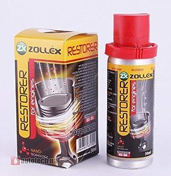 ZOLLEX Nano Aditivo para Aceite de Motor Antifricción | Restaurador ...