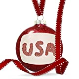 Christmas Decoration United States of America Meat Ornament