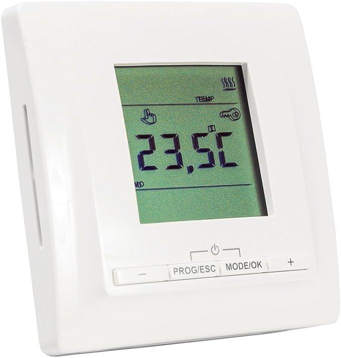 Elektrische Fu/ßbodenheizung Komplett-Set BZ-150 mit Thermostat MCS 350 Wlan 1 m/² - 0,5 m x 2,0 m