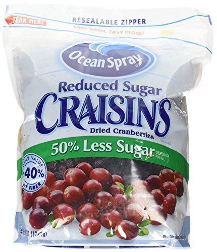 - Ocean Spray Reduced Sugar Craisins, 43 oz