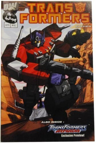 Transformer Comic - Generation 1 Preview 1 Print 1 By Unknown
