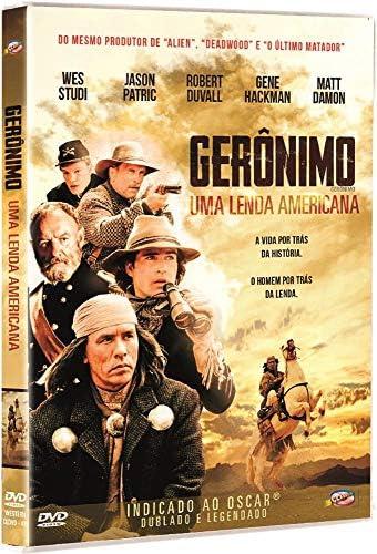 Gerônimo: Uma Lenda Americana: Jason Patric, Gene Hackman, Robert Duvall,  Matt Damon, Walter Hill: Amazon.com.br: DVD e Blu-ray