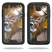 Mightyskins Protective Vinyl Skin Decal Cover for LifeProof Samsung Galaxy S4 Case fre wrap sticker skins Deer