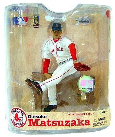 McFarlane Toys, MLB Series 21 Daisuke Matsuzaka Figure Boston Red Sox White Jersey