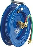 Coxreels SL17WL-150 Side Mount Spring Rewind  Welding  Reel  Oxygen-Acetylene Dual Hose: 1/4'' I.D., 50'  hose capacity, 200 PSI, left mount, less hose