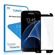 S7 Screen Protector/Galaxy S7 Tempered Glass Screen Protector - TURATA® Screen Protector Ultra High Definition 9H Hardness Bubble-free Install Design for Samsung Galaxy S7