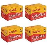 4 Rolls of Kodak Colorplus 200 ASA 36 Exposure