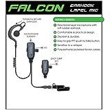 FALCON Quick Release Headset for Vertex Standard VX-600 VX-800 VX-900