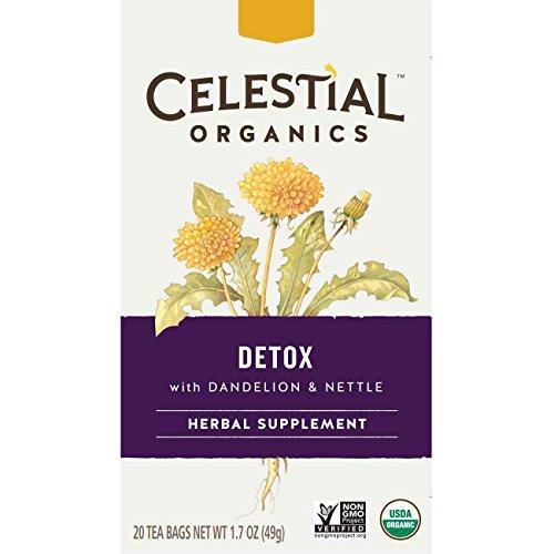 Celestial Organics Herbal Detox Count