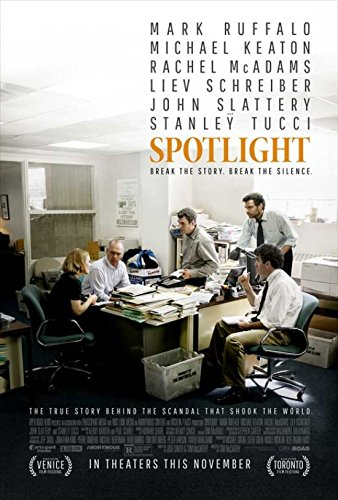 Spotlight Movie Poster (27 x 40)