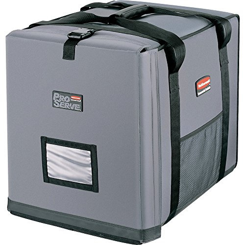 Rubbermaid Commercial ProServe Insulated Full Pan Carrier, Large, Gray