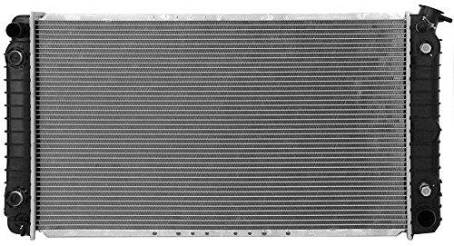 Klimoto Brand New Radiator fits Buick LeSabre Park Avenue Pontiac Bonneville Cadillac Deville 1988 1998 3.8L V6 4.9L V8 20523 20539 20639 20689 52455639 52455644 52461785