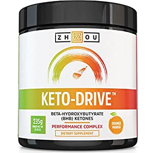 Amazon Com Keto Drive Bhb Salts Exogenous Ketone