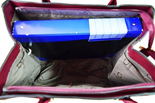Cabas A4 rose sac Gris Étudiante Cours Filles Gallantry Sac Lycée 51Envq