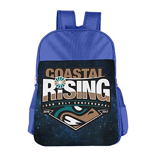 Geek Kid & Toddler Multipurpose Backpacks Bags, Coastal Carolina University RoyalBlue (Skrillex Halloween)
