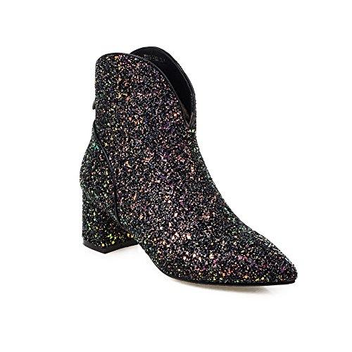 Balamasa Donna Chukka Balamasa Black Stivali Stivali U6wrxO4Uq
