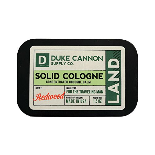 Top duke cannon solid cologne land for 2020