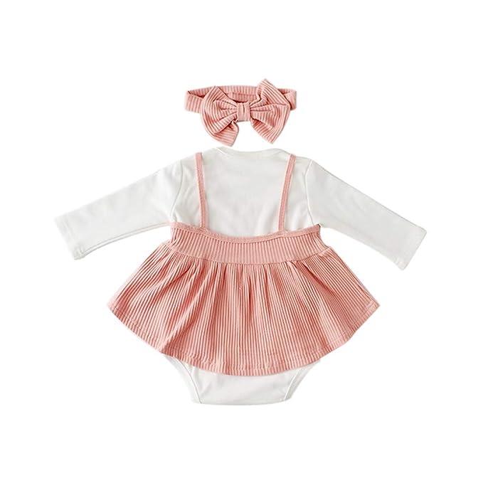 Conjunto de bebé Recien Nacido Primavera Verano Niños niñas Mono ...