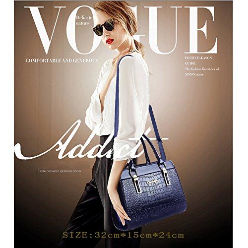 Borse Handbag PU AVERIL tasche con Donna Bag Shoulder Tote mano Mutil pelle Borsa a a G Khaki Bag Spalla in borsa CvgwYxYq