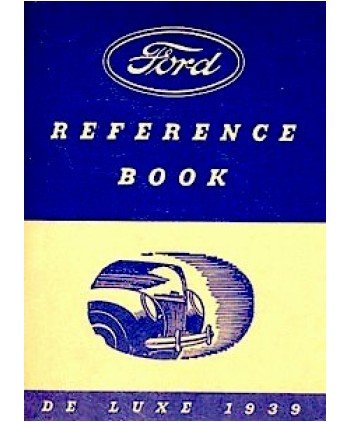 1939 Ford V-8 V8 coche Owners Manual guía de usuario referencia operador libro fusibles: Amazon.es: Coche y moto